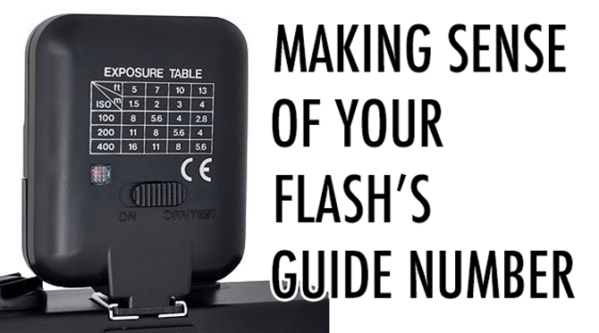 what is a flash guide number