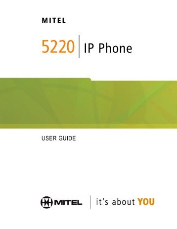mitel 5304 ip phone quick reference guide