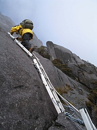 king climbers route guide book