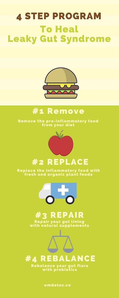 menu guide for leaky gut