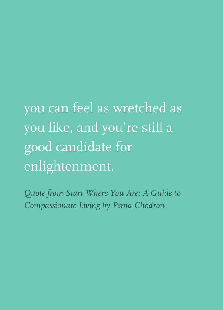 start where you are a guide to compassionate living